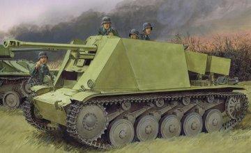 5cm PaK 38 L/60 auf Fgst.Pz.Kpfw.II · DR 6721 ·  Dragon · 1:35