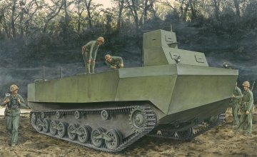 IJN Special Type 4 Ka-Tsu Aphibious · DR 6839 ·  Dragon · 1:35