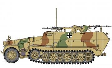 Sd.Kfz.251/16 Ausf.C Flammpanzerwagen · DR 6864 ·  Dragon · 1:35
