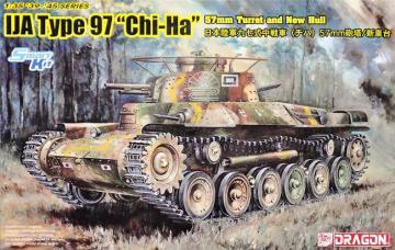 IJA Type 97 Chi-Ha 57mm Gun w/ New Hull · DR 6875 ·  Dragon · 1:35