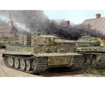 Tiger I Mid-Production w/Zimmerit · DR 6888 ·  Dragon · 1:35