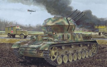 Flakpanzer IV Ausf.G Wirbelwind EP · DR 6926 ·  Dragon · 1:35