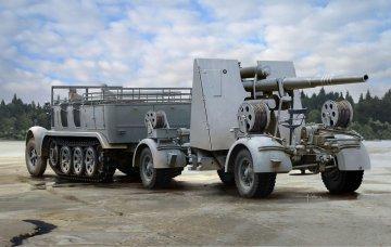 Sd.Kfz7 8(t) Halftrack + 88mm Flak 36/37 · DR 6948 ·  Dragon · 1:35