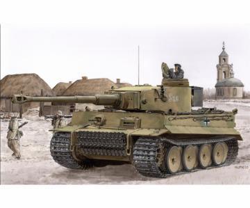 Tiger I Early Production - Battle of Kharkov · DR 6950 ·  Dragon · 1:35