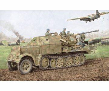 Sd.Kfz.7/2 3.7cm FlaK 37 & FlaK 36 · DR 6953 ·  Dragon · 1:35