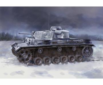 Pz.Kpfw.III Ausf.L s.Pz.Abt.502 Leningrad 1942 · DR 6957 ·  Dragon · 1:35