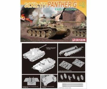 Sd.Kfz.171 Panther G Early Version · DR 7205 ·  Dragon · 1:72