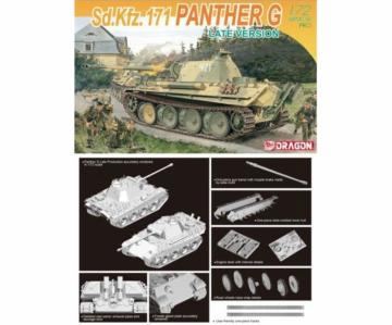 Sd.Kfz.171 Panther G Late Version · DR 7206 ·  Dragon · 1:72