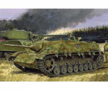 Jagdpanzer L/48 Early Production · DR 7276 ·  Dragon · 1:72