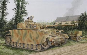 Pz.Kpfw.IV Ausf.H Mid Production · DR 7279 ·  Dragon · 1:72