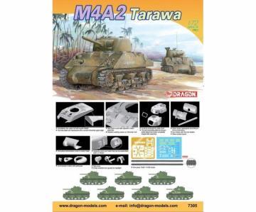 M4A2 Tarawa · DR 7305 ·  Dragon · 1:72