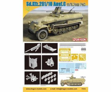 Sd.Kfz.251/10 Ausf.C w/3.7cm PaK · DR 7314 ·  Dragon · 1:72