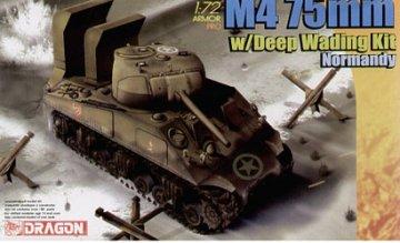 M4 75mm w/Deep Wading Kit Normandy · DR 7367 ·  Dragon · 1:72