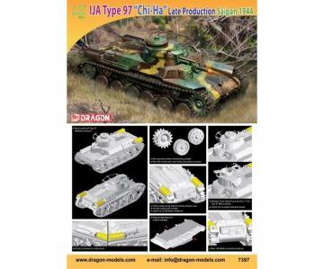 IJA Type 97 Chi-Ha Saipan 1944 LP · DR 7397 ·  Dragon · 1:72