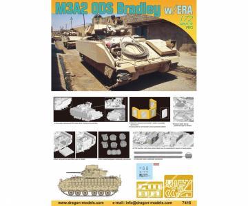 M3A2 ODS Bradley w/ERA · DR 7416 ·  Dragon · 1:72