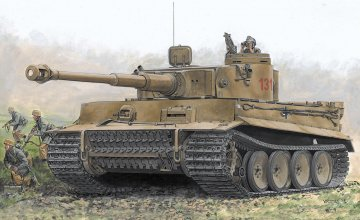 Tiger I Early Production · DR 7482 ·  Dragon · 1:72