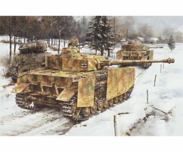 Pz.Kpfw.IV Ausf.J Mid Production · DR 7498 ·  Dragon · 1:72