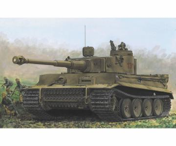Tiger I Early Production -  131s.Pz.Abt.504 · DR 7500 ·  Dragon · 1:72