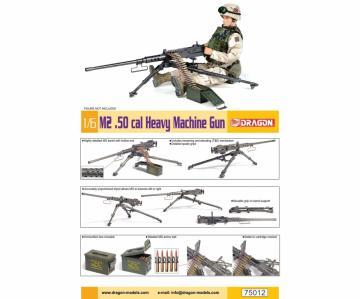 M2 .50-cal Heavy Machine Gun · DR 75012 ·  Dragon · 1:6