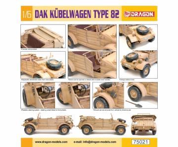 DAK Kübelwagen Type 82 · DR 75021 ·  Dragon · 1:6