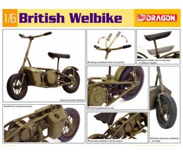 British Welbike · DR 75034 ·  Dragon · 1:6
