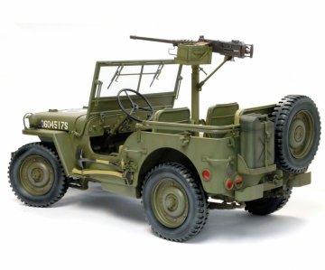 1/4 Ton 4x4 Truck w/M2.50-cal MachineGun · DR 75052 ·  Dragon · 1:6