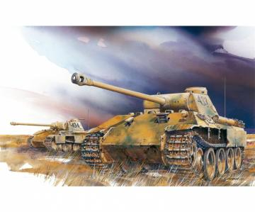 Sd.Kfz.171 Panther Ausf.D (2 in 1) · DR 7547 ·  Dragon · 1:72