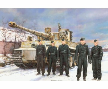 Tiger I Early Prod.Wittmann´s Command · DR 7620 ·  Dragon · 1:72