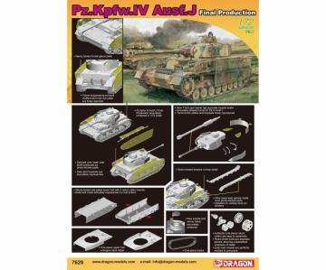 Pz.Kpfw.IV Ausf.J Final Production · DR 7629 ·  Dragon · 1:72