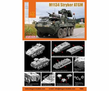 M1134 Stryker ATGM · DR 7685 ·  Dragon · 1:72