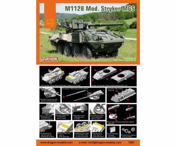 M1128 Mod. Stryker MGS · DR 7687 ·  Dragon · 1:72