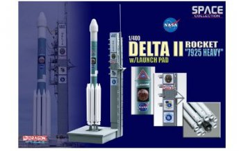 DeltaII Rocket7925 Heavyw/Launch · DR 56339 ·  Dragon Wings · 1:400