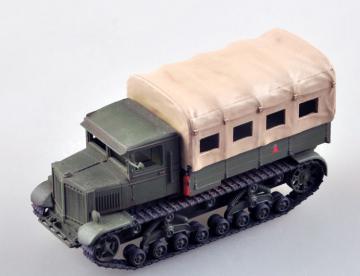 Soviet Voroshilovets Tractor · EZM 35112 ·  Easy Model · 1:72