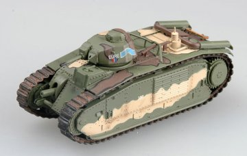French B bis tank s/n 337 EURE May 1940, France 3e DCR · EZM 36156 ·  Easy Model · 1:72