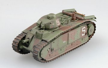 French B bis tank s/n 323 VAR of 2nd Company, June 1940 · EZM 36158 ·  Easy Model · 1:72