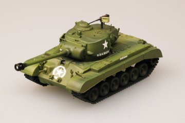 M26 Pershing Nr. 9 18th Panzer Battalion · EZM 36200 ·  Easy Model · 1:72