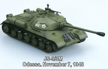 USSR JS-3/3M Odessa 7.November 1948 · EZM 36244 ·  Easy Model · 1:72