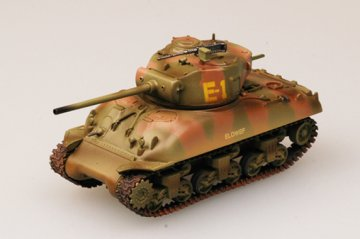 M4A1 (76)W Middle Tank 2nd Armored Div. · EZM 36248 ·  Easy Model · 1:72