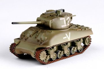 M4A1 (76)W Middle Tank Israeli Armored Brigade · EZM 36250 ·  Easy Model · 1:72