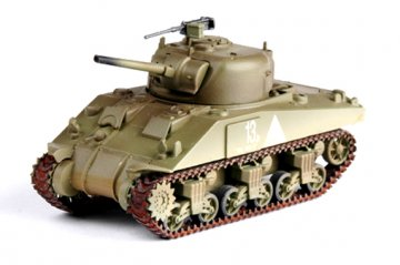M4 Middle Tank (Mid.) 6th Armored Div. · EZM 36251 ·  Easy Model · 1:72