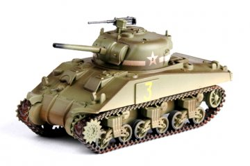 M4 Middle Tank (Mid.) 1st. Armored Div. · EZM 36252 ·  Easy Model · 1:72