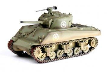 M4A3 Middle Tank - U.S. Army 1944 Normandy · EZM 36255 ·  Easy Model · 1:72
