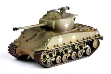 M4A3E8 Middle Tank - U.S. Army · EZM 36257 ·  Easy Model · 1:72