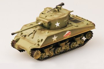 M4A3 (76) Middle Tank 37th Tank Bat., 4th Armored Div. · EZM 36260 ·  Easy Model · 1:72