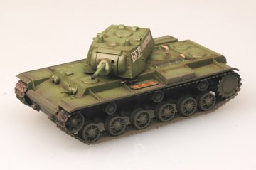 KV-1 - Russian Army 1941 Green color · EZM 36276 ·  Easy Model · 1:72