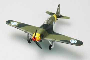 MS 406 Finnland Airforce · EZM 36326 ·  Easy Model · 1:72