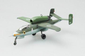 He.162A-2(W.Nr.120097)1./JG1, May 1945 · EZM 36345 ·  Easy Model · 1:72