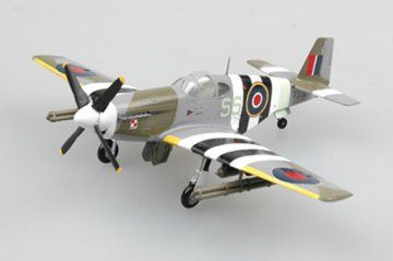 P-51B FZ152. 1944 · EZM 36356 ·  Easy Model · 1:72