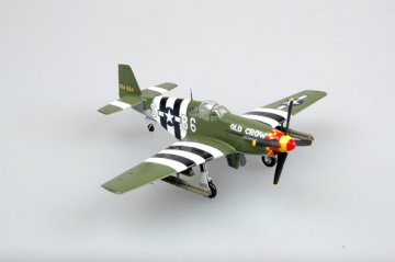 P-51B Captain Clarence Bud Anderson · EZM 36358 ·  Easy Model · 1:72