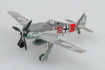 Focke-Wulf Fw 190 A-8 Red 19, 5./JG300, Oct 1944 · EZM 36361 ·  Easy Model · 1:72